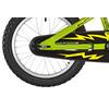 Ghost Powerkid AL 16 Lapset lasten polkupyörä , keltainen/vihreä